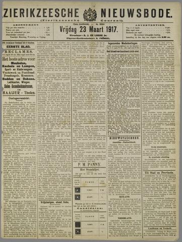 Zierikzeesche Nieuwsbode 1917-03-23