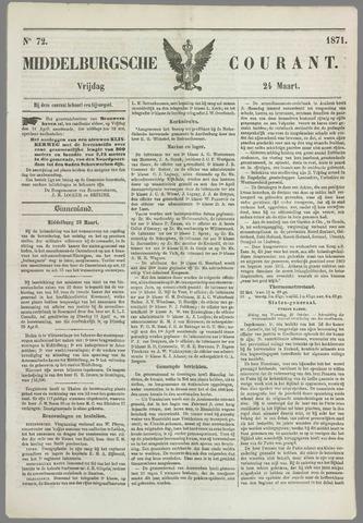 Middelburgsche Courant 1871-03-24
