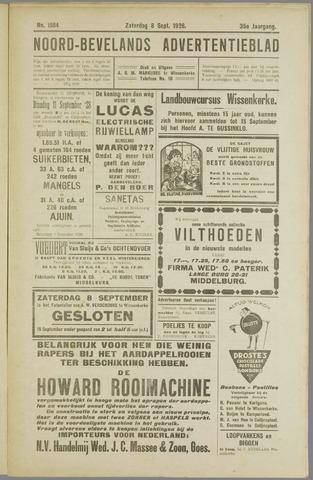 Noord-Bevelands Nieuws- en advertentieblad 1928-09-08