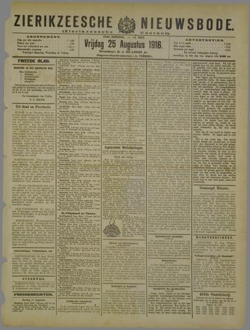 Zierikzeesche Nieuwsbode 1916-08-25
