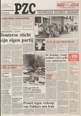 Provinciale Zeeuwse Courant 1987-04-13