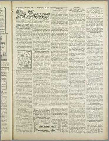 De Zeeuw. Christelijk-historisch nieuwsblad voor Zeeland 1944-03-20