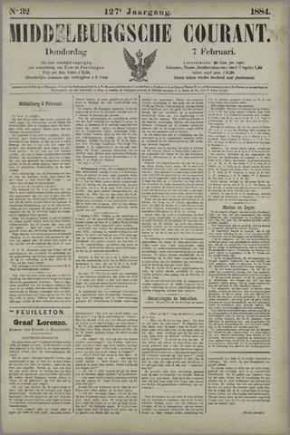Middelburgsche Courant 1884-02-07