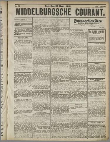 Middelburgsche Courant 1921-03-26