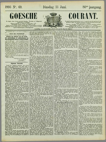 Goessche Courant 1893-06-13