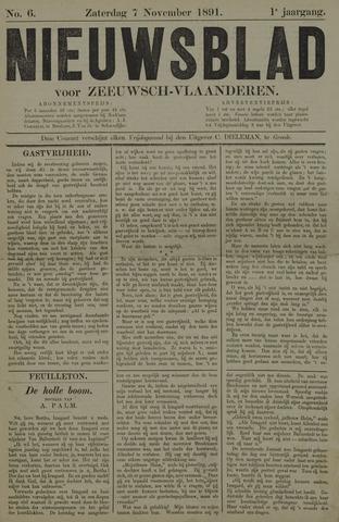 Nieuwsblad voor Zeeuwsch-Vlaanderen 1891-11-07