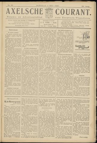 Axelsche Courant 1937-05-04