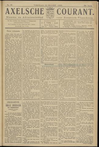 Axelsche Courant 1935-03-15