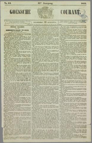 Goessche Courant 1855-08-16