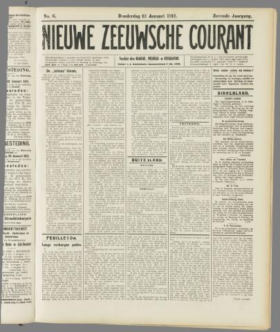 Nieuwe Zeeuwsche Courant 1911-01-12
