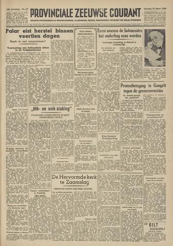 Provinciale Zeeuwse Courant 1949-03-22