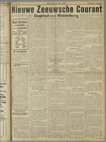 Nieuwe Zeeuwsche Courant 1920-04-14