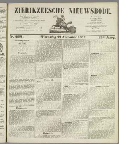 Zierikzeesche Nieuwsbode 1865-11-22