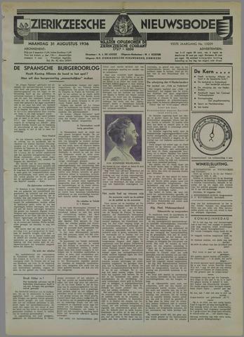 Zierikzeesche Nieuwsbode 1936-08-31