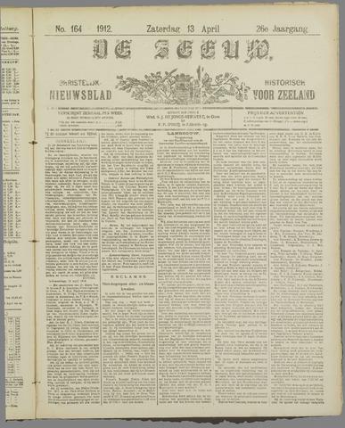 De Zeeuw. Christelijk-historisch nieuwsblad voor Zeeland 1912-04-13