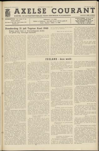Axelsche Courant 1960-07-23