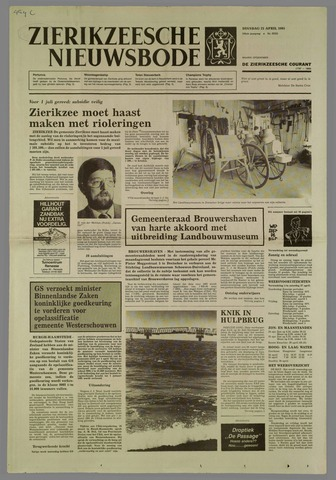 Zierikzeesche Nieuwsbode 1985-04-23