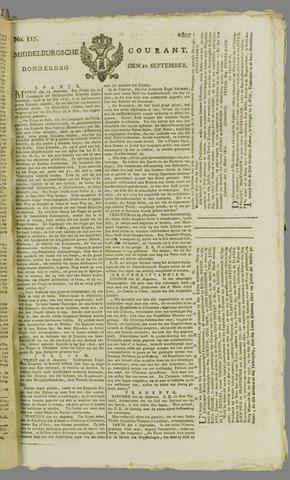 Middelburgsche Courant 1807-09-10