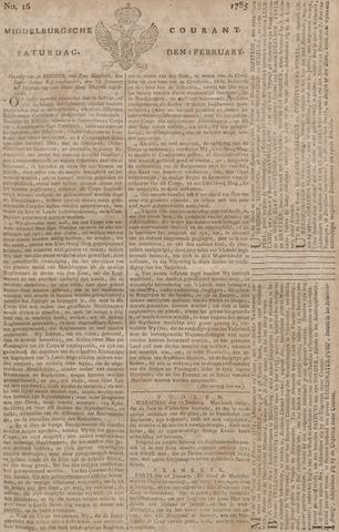 Middelburgsche Courant 1785-02-05