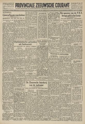 Provinciale Zeeuwse Courant 1946-08-22