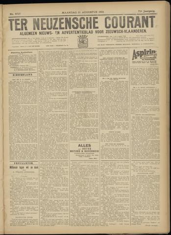 Ter Neuzensche Courant. Algemeen Nieuws- en Advertentieblad voor Zeeuwsch-Vlaanderen / Neuzensche Courant ... (idem) / (Algemeen) nieuws en advertentieblad voor Zeeuwsch-Vlaanderen 1931-08-31