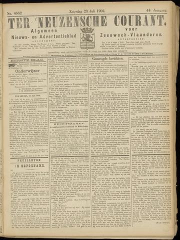 Ter Neuzensche Courant. Algemeen Nieuws- en Advertentieblad voor Zeeuwsch-Vlaanderen / Neuzensche Courant ... (idem) / (Algemeen) nieuws en advertentieblad voor Zeeuwsch-Vlaanderen 1904-07-23