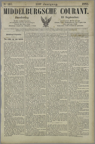 Middelburgsche Courant 1883-09-13