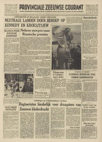 Provinciale Zeeuwse Courant 1961-09-05