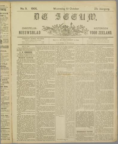 De Zeeuw. Christelijk-historisch nieuwsblad voor Zeeland 1906-10-10