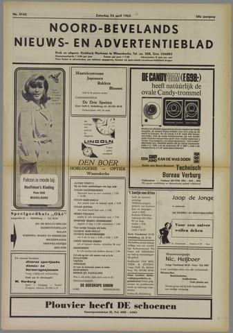 Noord-Bevelands Nieuws- en advertentieblad 1965-04-24