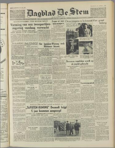de Stem 1950-04-21