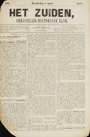 Het Zuiden, Christelijk-historisch blad 1877-04-03