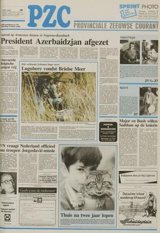 Provinciale Zeeuwse Courant 1992-03-07