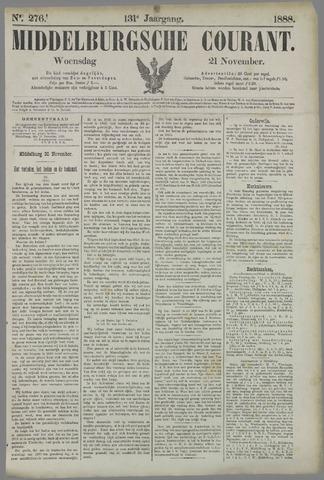 Middelburgsche Courant 1888-11-21