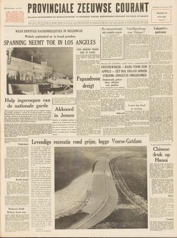 Provinciale Zeeuwse Courant 1965-08-14