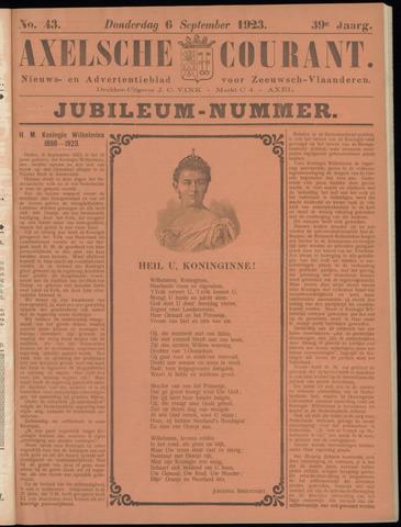 Axelsche Courant 1923-09-06