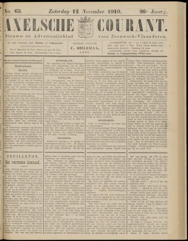 Axelsche Courant 1910-11-12