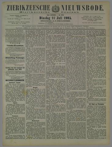 Zierikzeesche Nieuwsbode 1905-07-11