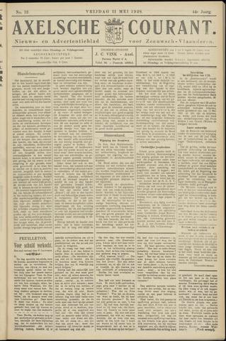 Axelsche Courant 1928-05-11