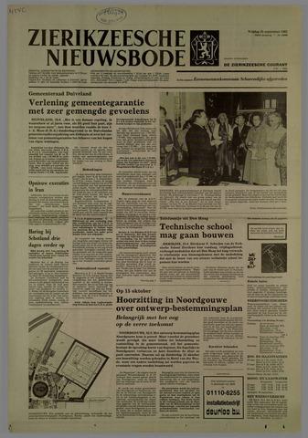 Zierikzeesche Nieuwsbode 1981-09-25