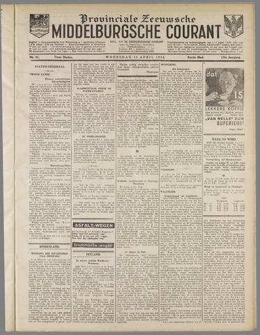Middelburgsche Courant 1932-04-13