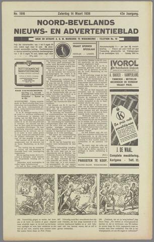 Noord-Bevelands Nieuws- en advertentieblad 1936-03-14