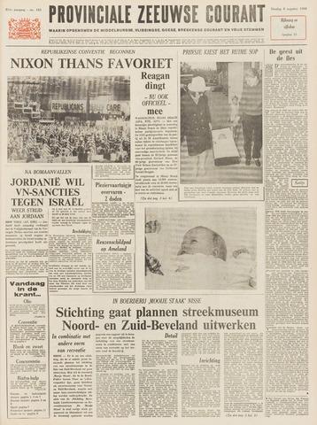 Provinciale Zeeuwse Courant 1968-08-06
