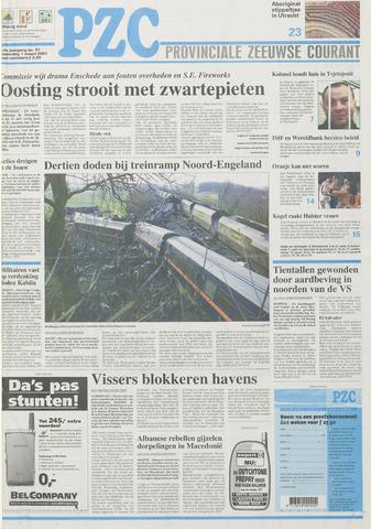 Provinciale Zeeuwse Courant 2001-03-01