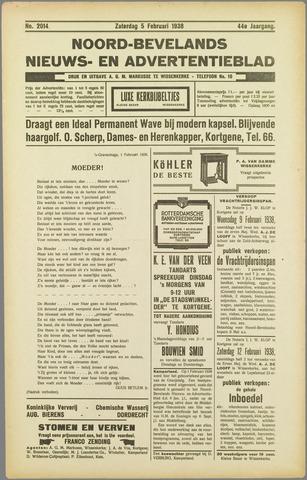 Noord-Bevelands Nieuws- en advertentieblad 1938-02-05