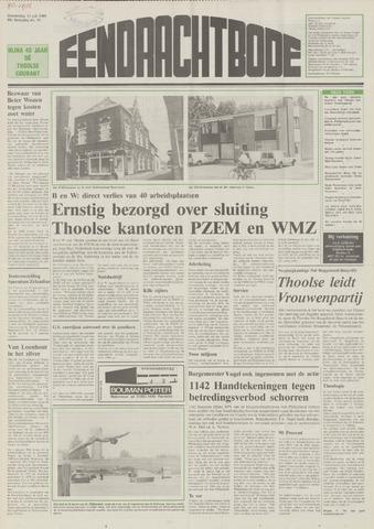 Eendrachtbode (1945-heden)/Mededeelingenblad voor het eiland Tholen (1944/45) 1989-07-13