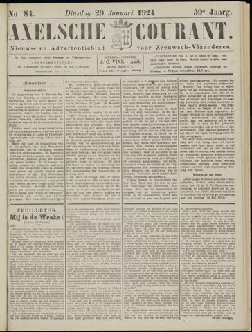 Axelsche Courant 1924-01-29