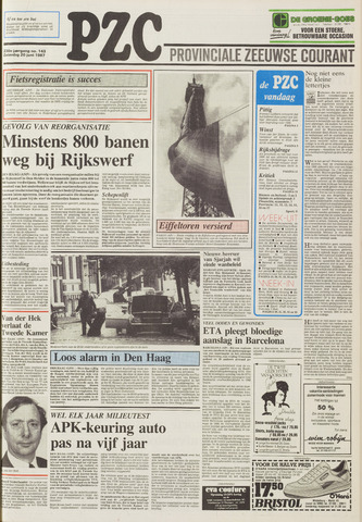 Provinciale Zeeuwse Courant 1987-06-20