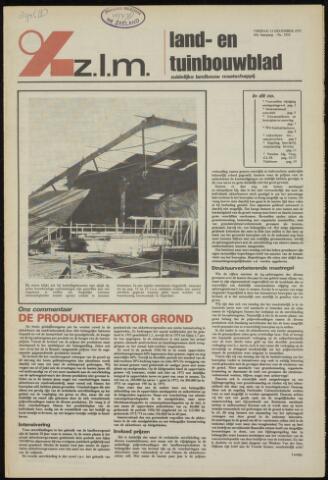 Zeeuwsch landbouwblad ... ZLM land- en tuinbouwblad 1975-12-12