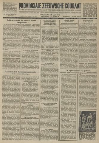 Provinciale Zeeuwse Courant 1942-01-28